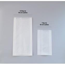 Sütőipari papírzacskó 1 kg-os - FEHÉR