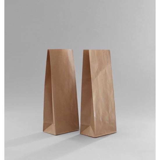 Talpas papírtasak 10,5x6,5x27 cm - BARNA